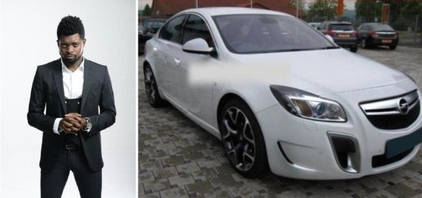 Basketmouth gets 2013 Opel Insignia