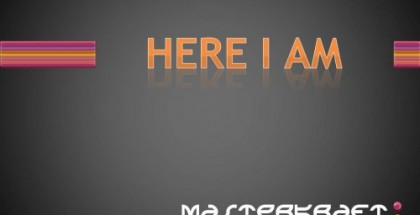 mastecraft here i am cover