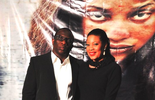 Exclusive Actress Monalisa Chinda And Lanre Nzeribe Dare All: Step Out Hand In Hand At Uche Jumbos Movie Premiere