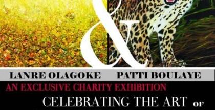 Celebrating the Art ofPatti Boulaye and Lanre Olagoke small
