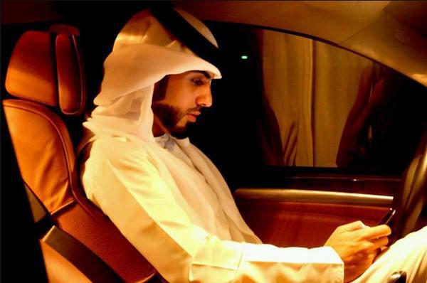 Photo: Omar Borkan Al Gala, man deported from Saudi Arabia for being too handsome