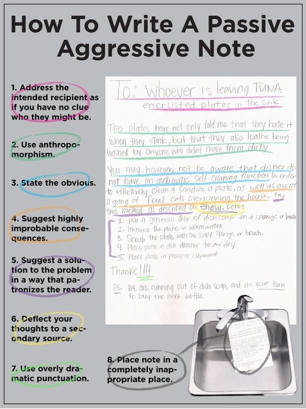 10 Common Passive Aggressive phrases to avoid