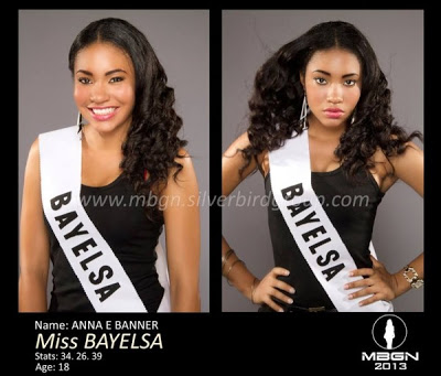 18 Year Old Anna Ebiere Banner wins Most Beautiful Girl in Nigeria 2013 Title in Bayelsa