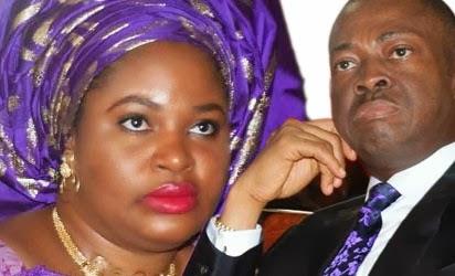 Enugu State Governor; Sullivan  Chime and Wife Clara