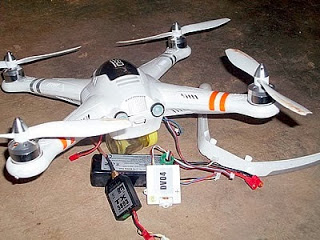 Alleged US Spy Drone That Crashed Into A Home In Ibadan Was A Toy – New Report