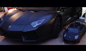 Kim Kardashian's Daughter North West Gets Matching Lamborghini Car Like Dad Kanye West: Picture