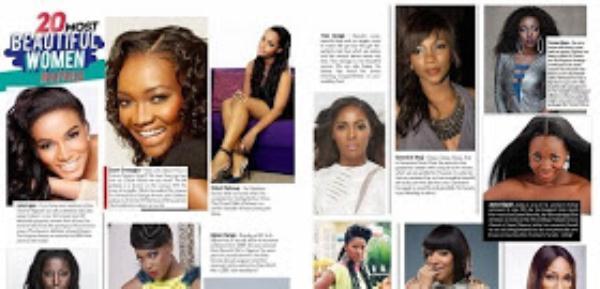 Nigeria, Ghana Lead Africa's 20 Most Beautiful Women