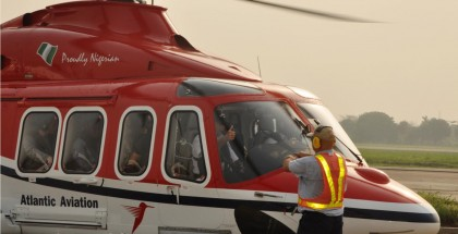 Shell-Nigeria-hires-Atlantic-Aviations-helicopter-for-crew-transportation