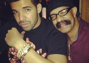 American Rapper; Drake and his father; Dennis Graham