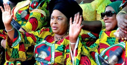 Nigeria's first Lady; Patience Jonathan