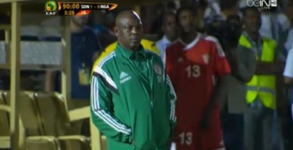 Stephen Keshi failed to find the right approach for breaking the Sudanese defence
