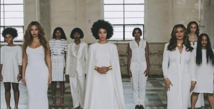 Solange's wedding. Photograph: Beyonce/Instagram