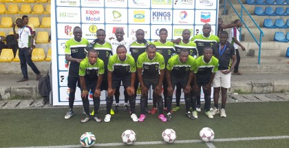 Etisalat FC line up in NCCC 2014