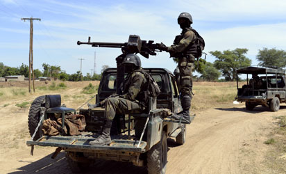 Chadian troops enter Nigeria to battle Boko Haram