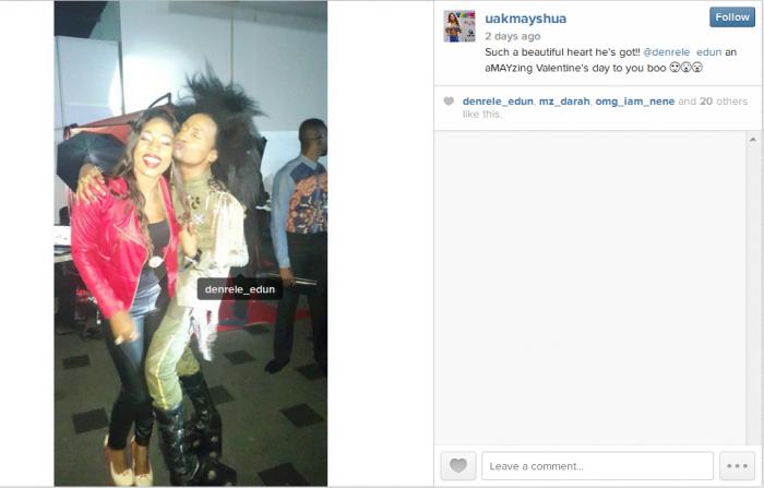 Denrele's Girlfriend, May Shua Finally Revealed [@DENRELE_EDUN #ChannelO]