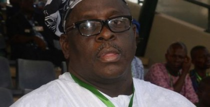 "In this photo taken Sunday, Oct, 12, 2014, Buruji Kashamu attends a primary election event for Nigerian President Goodluck Jonathan, Abuja, Nigeria. Kashamu, who is indicted in the U.S. for allegedly smuggling heroin in a court case that was the basis for the TV hit ""Orange Is The New Black,"" has been elected a senator in Nigeria. Election results posted late Wednesday, April 15, 2015 identify Kashamu as a senator-elect in southwest Ogun state. Opponents are challenging his victory in court, saying ballots were rigged. (AP Photo)"