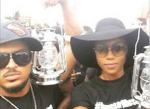 Yvonne Nelson and Van Vicker