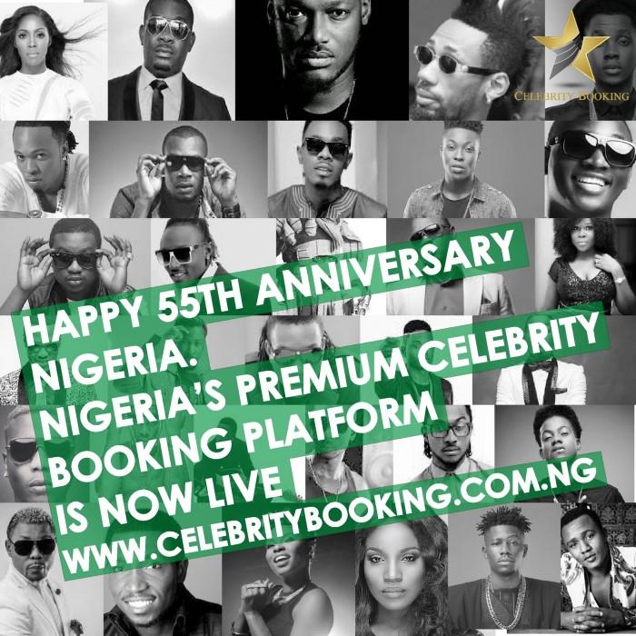 Nigeria's Premium Celebrity Booking Platform goes LIVE