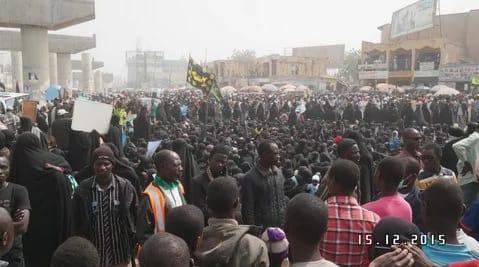 Shiite movement: Gunshots Reported again In Kaduna