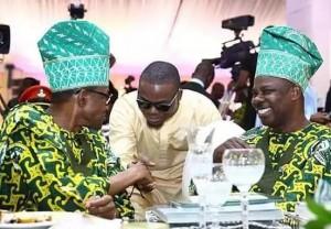 President Buhari, Olamide and Gov. Amosu