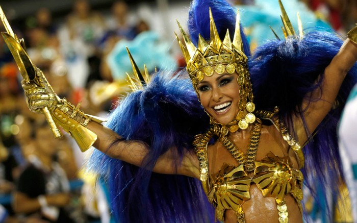 Brazil's Carnival season gets into full swing in Rio and Sao Paulo, in pictures
