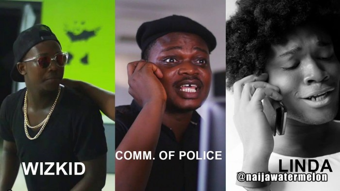 Funny Video #Comedy: The Full Story Wizkid Vs Linda Ikeji & Commissioner Of Police
